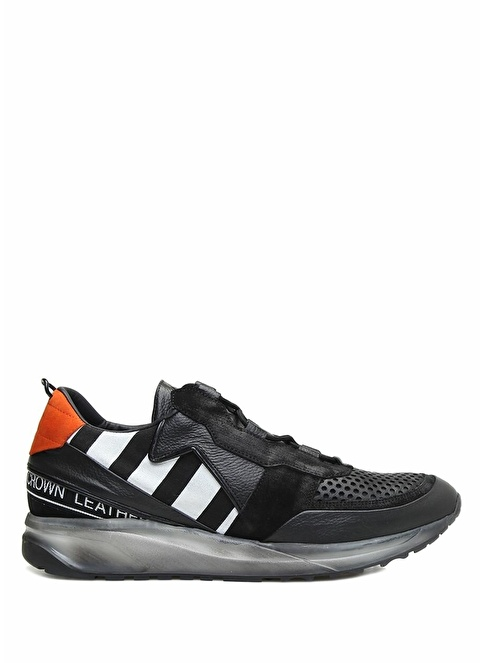 Leather Crown Sneakers Renkli